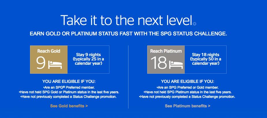 SPG Status Match