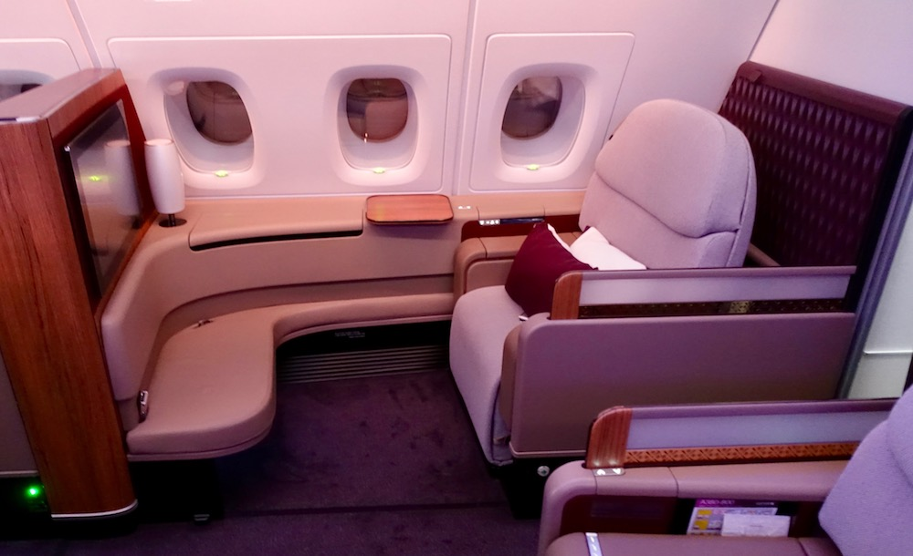 Qatar First Class Suite | Point Hacks