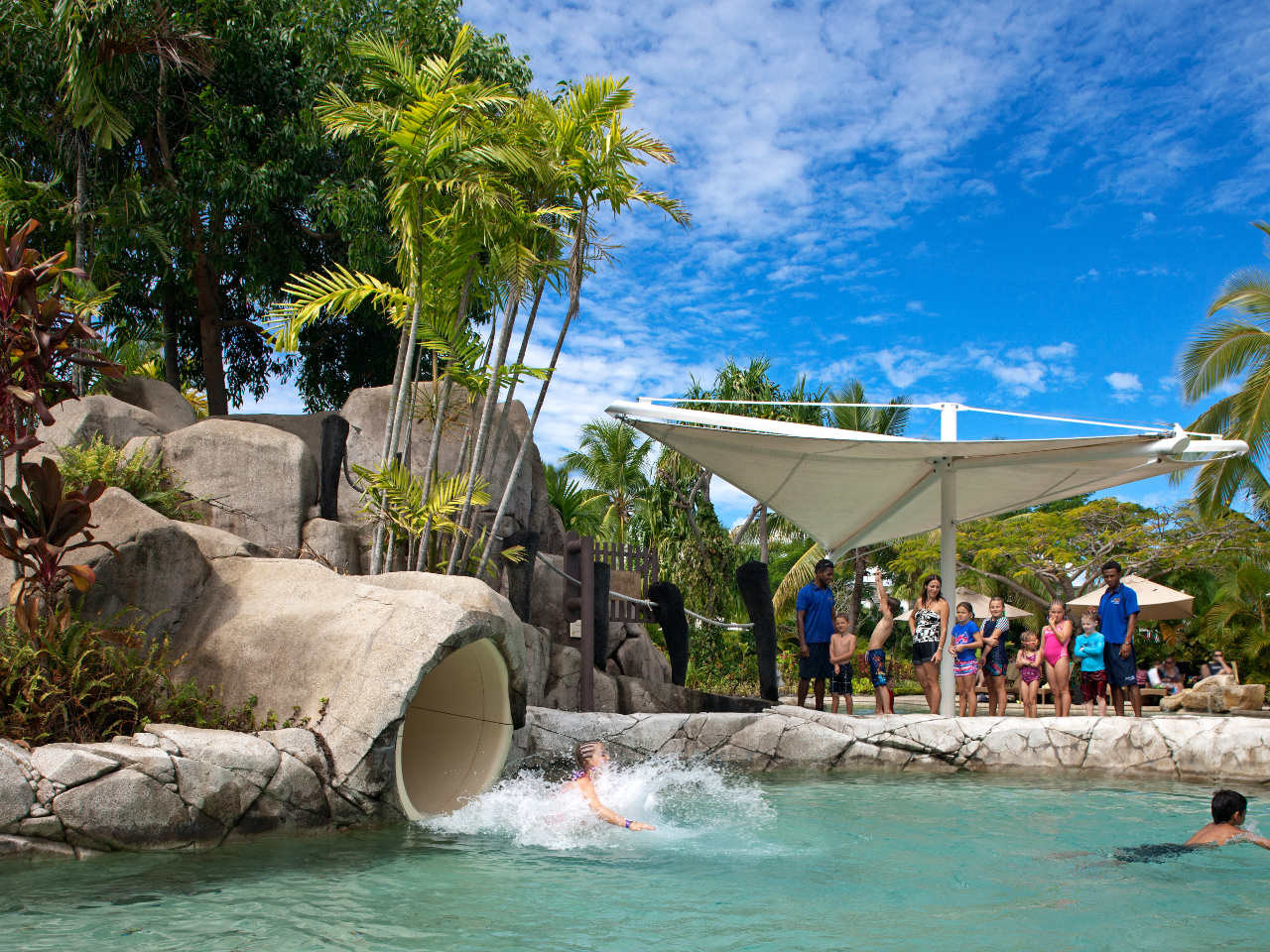 Radisson Fiji Waterslide | Point Hacks