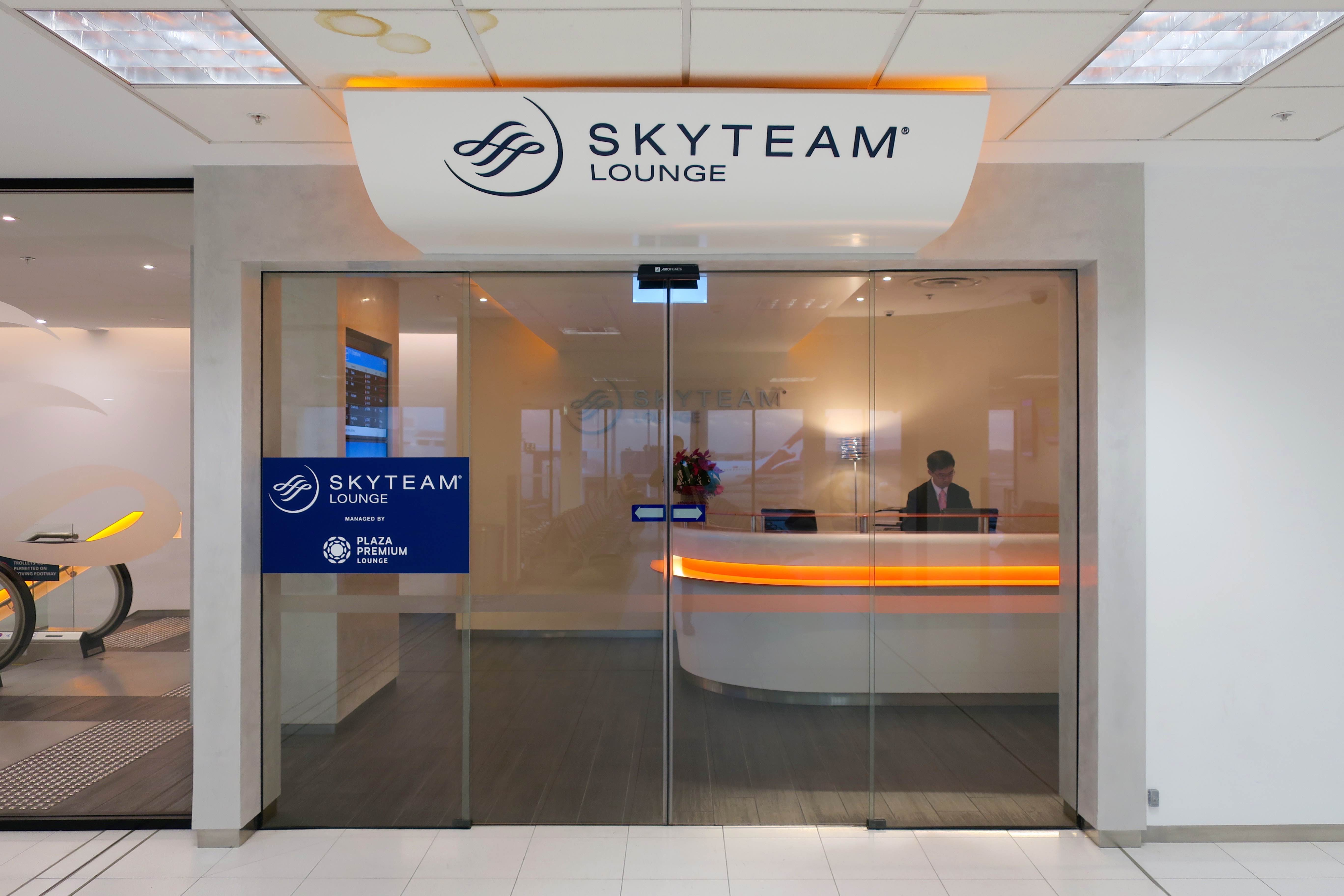 Skyteam Lounge Sydney | Point Hacks