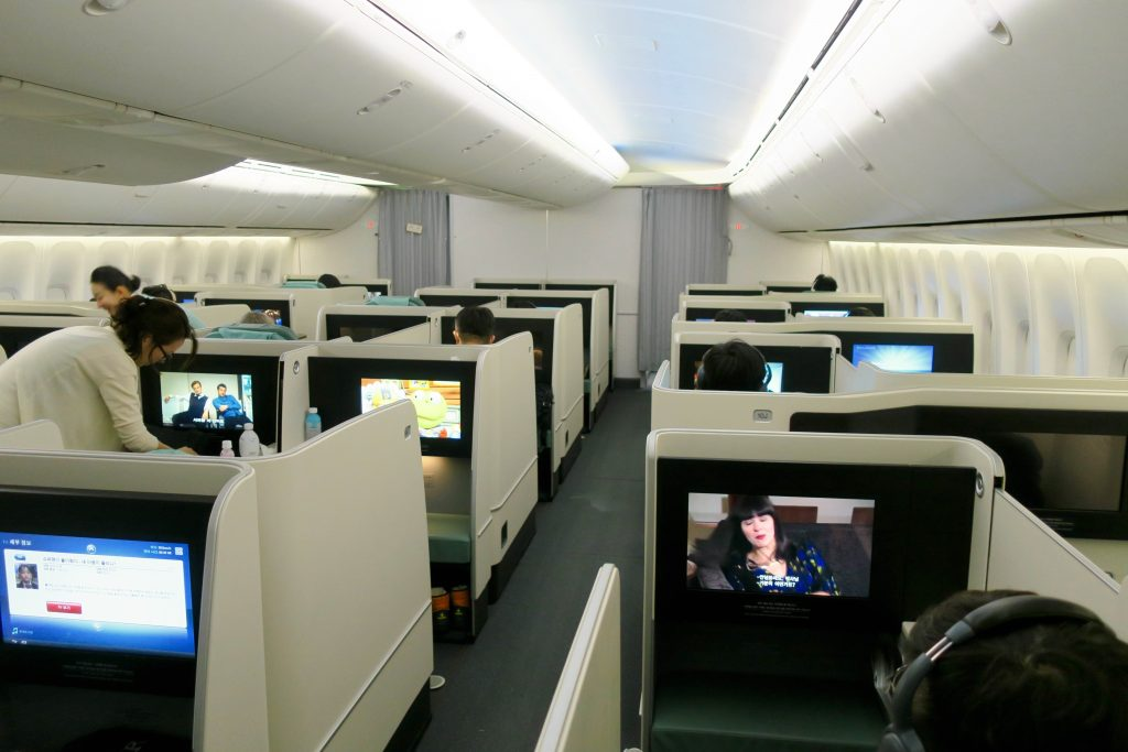 Korean Air 747-8i Business Class