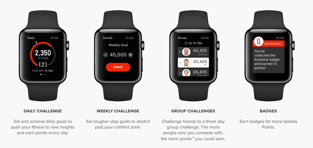 Qantas Assure Apple Watch