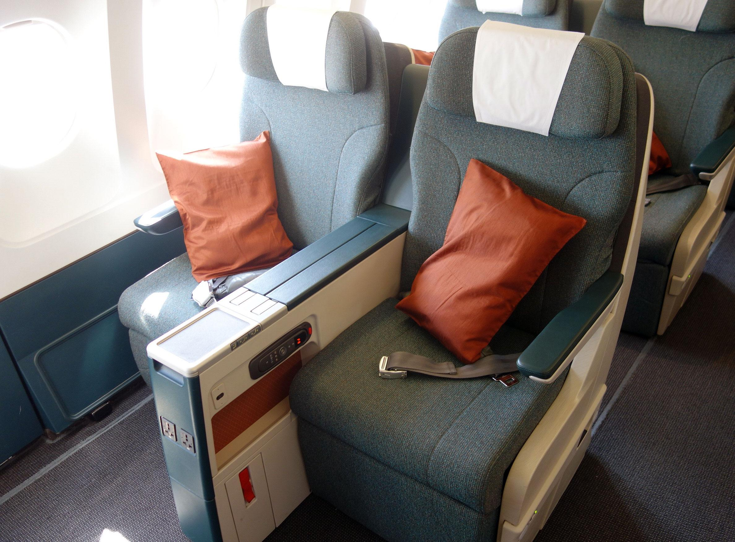 Cathay Pacific Regional A330 Business Class