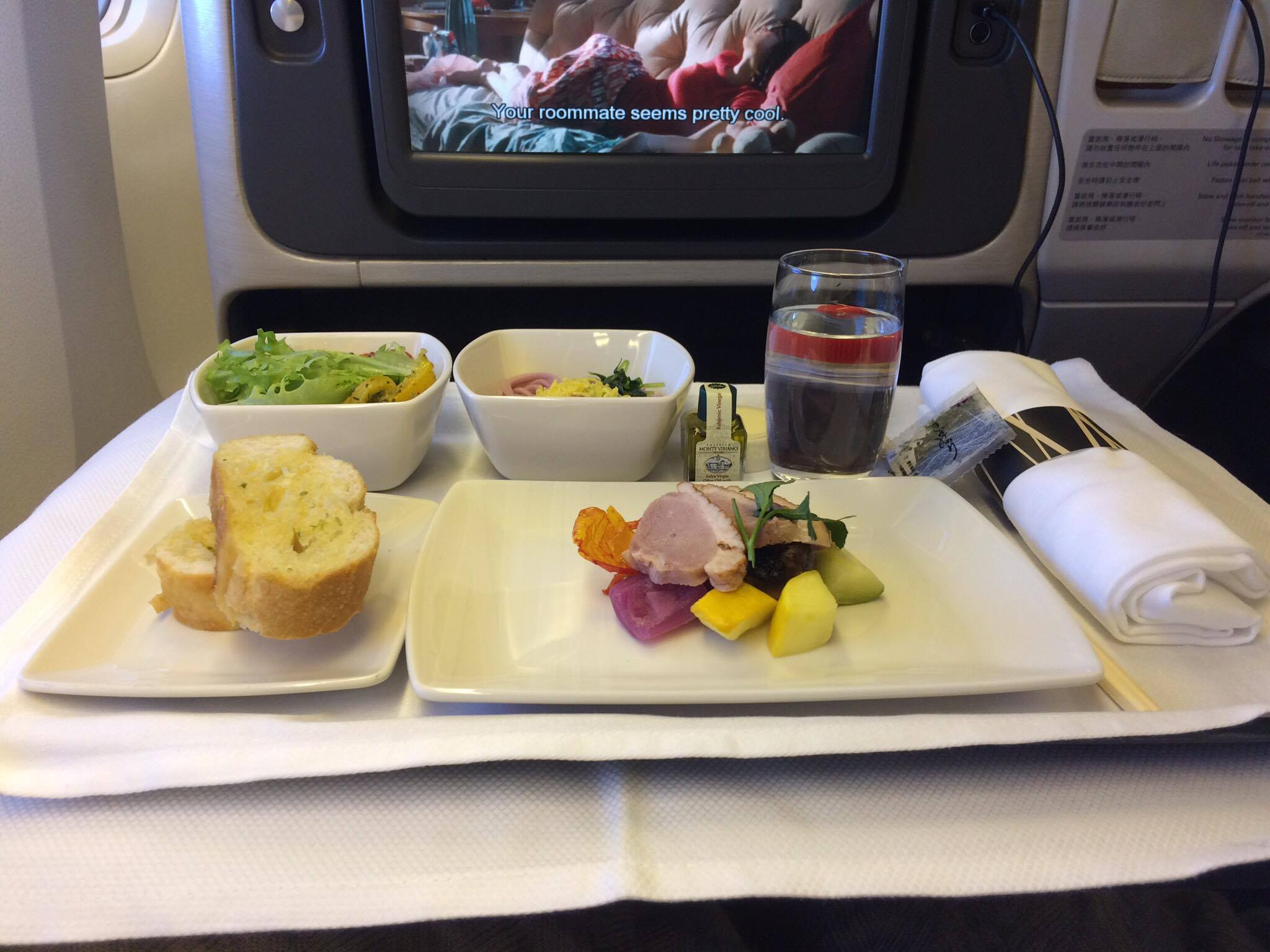 Cathay Pacific CX451 Smoked Duck