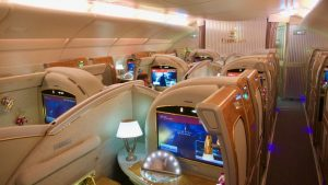 Emirates A380 First Class between Australia & New Zealand – Flight Overview