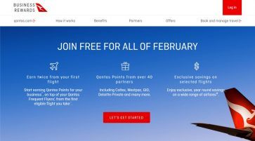 An introduction to how to earn points and perks with Qantas Business Rewards
