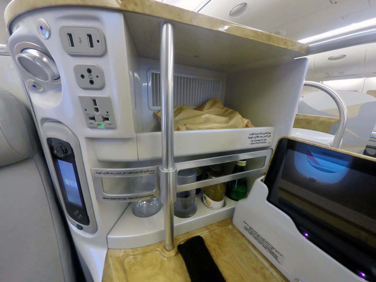 Emirates A380 Business Class Between Australia New Zealand