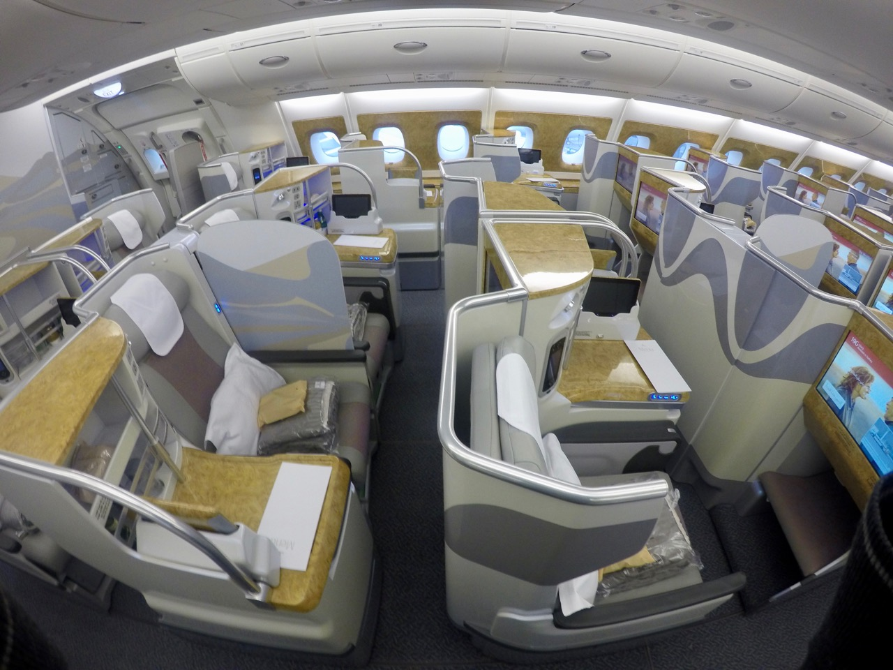 Emirates A380 Business Class Between Australia Amp New