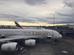 Emirates A380 Business Class between Australia & New Zealand – Flight Overview