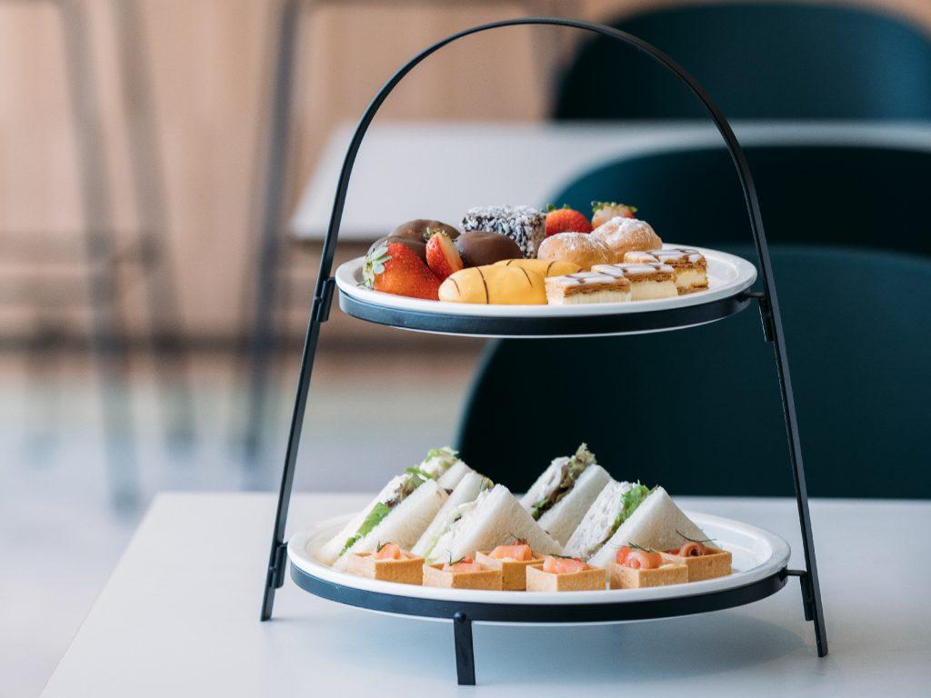 Plaza Premium Lounge Sydney high tea