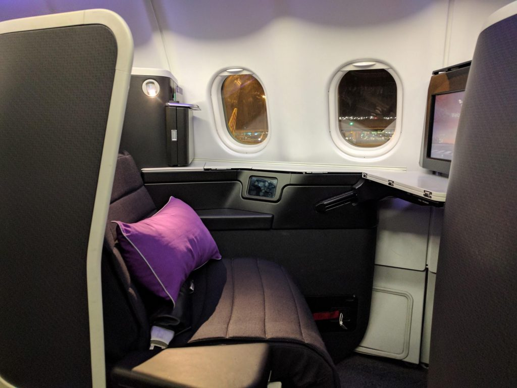 Virgin Australia A330 Business Class Seat | Point Hacks