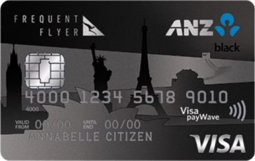 ANZ Frequent Flyer Black now offering 75,000 bonus Qantas Points and $200 credit