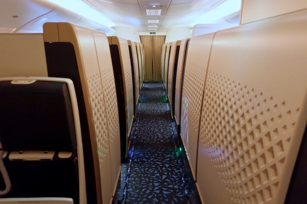 Etihad A380 First Class Apartments