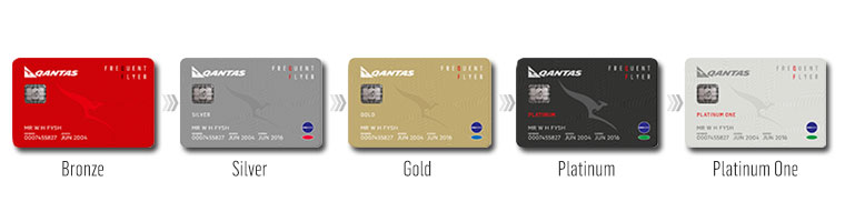 Qantas Frequent Flyer cards