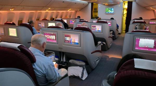 Qatar 777-200 Business Class review | Point Hacks