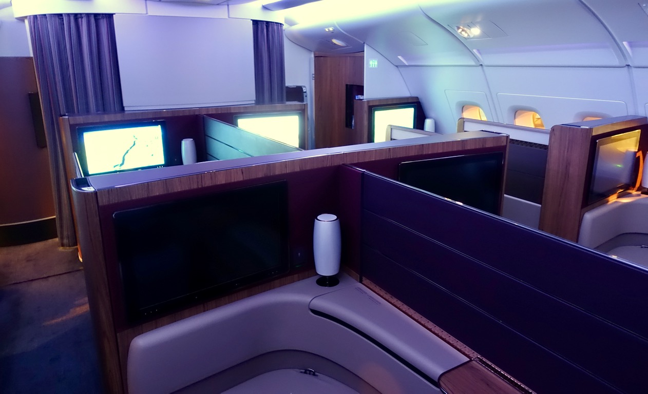 Qatar Airways A380 First Class Overview | Point Hacks