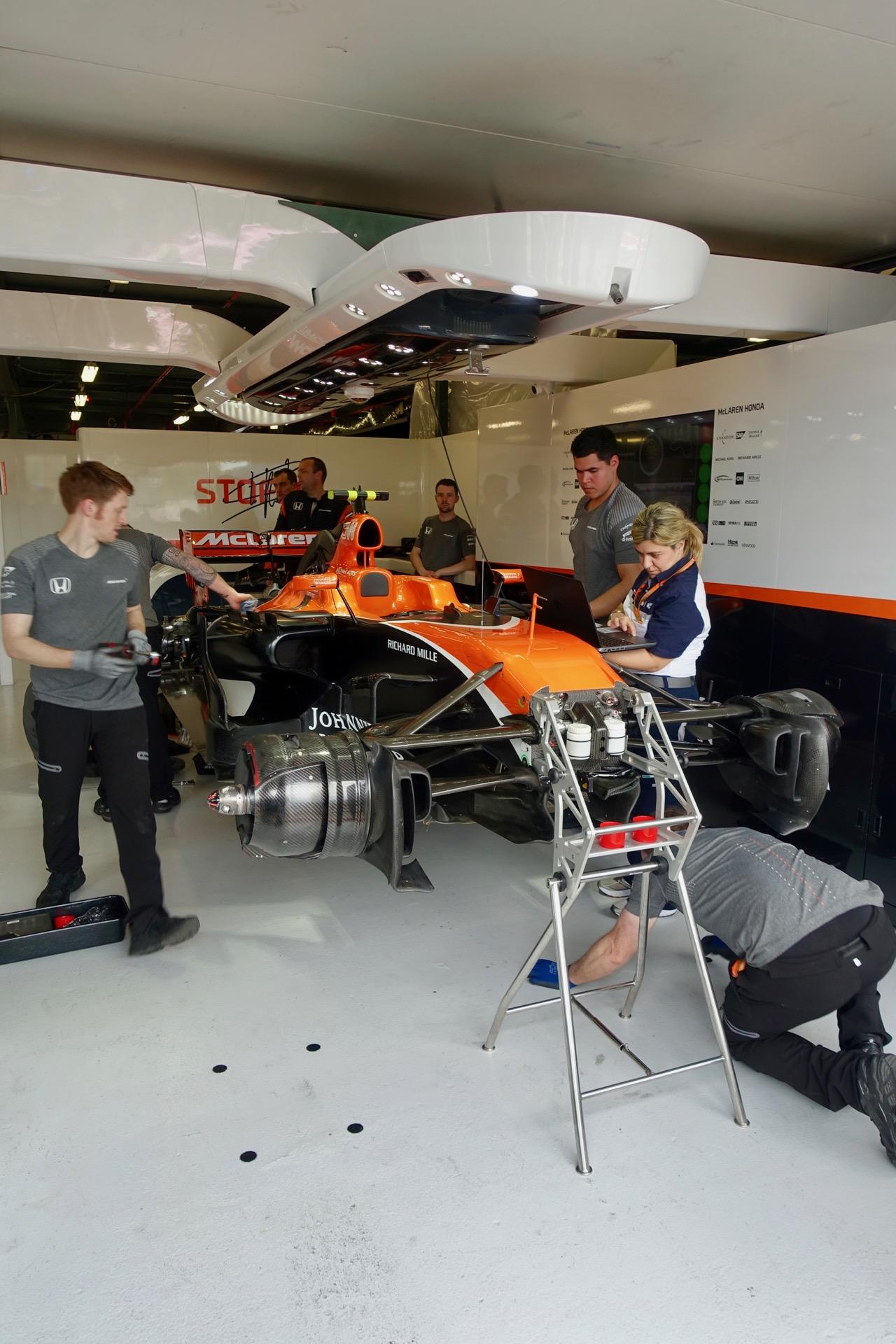 Hilton Honors McLaren Honda F1 Experiences