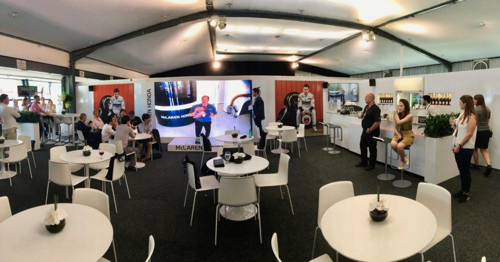 Hilton Honors McLaren-Honda F1 Experience