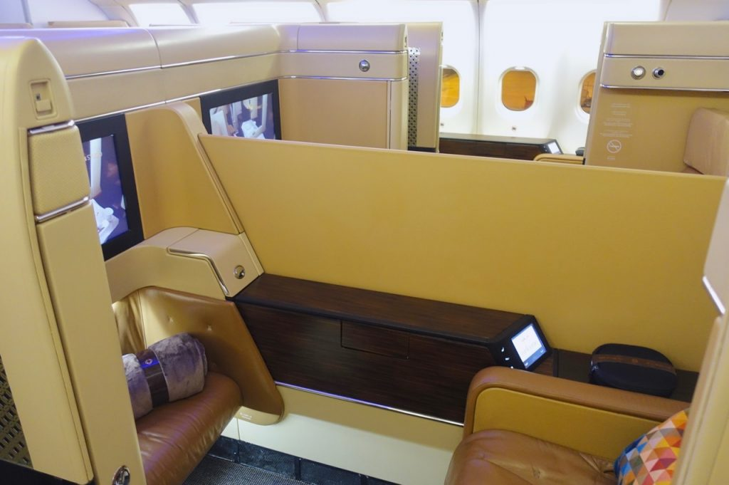 Etihad A330 First Class Cabin and Seats