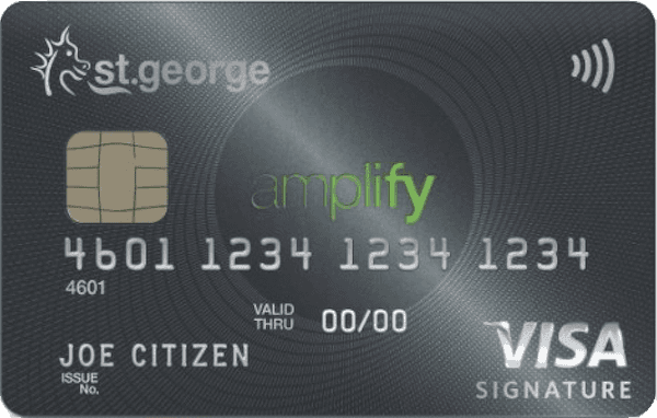 St.George Amplify Signature - Qantas Rewards