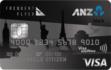 120,000 Qantas Points, 75 Status Credits and $150 back to your card with the ANZ Frequent Flyer Black