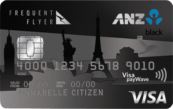 Earn Qantas Points with the ANZ Frequent Flyer Black