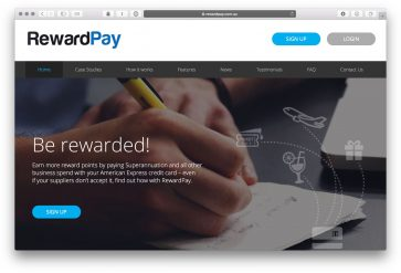 How to use Rewardpay with high points-earning American Express cards to earn points from business payments