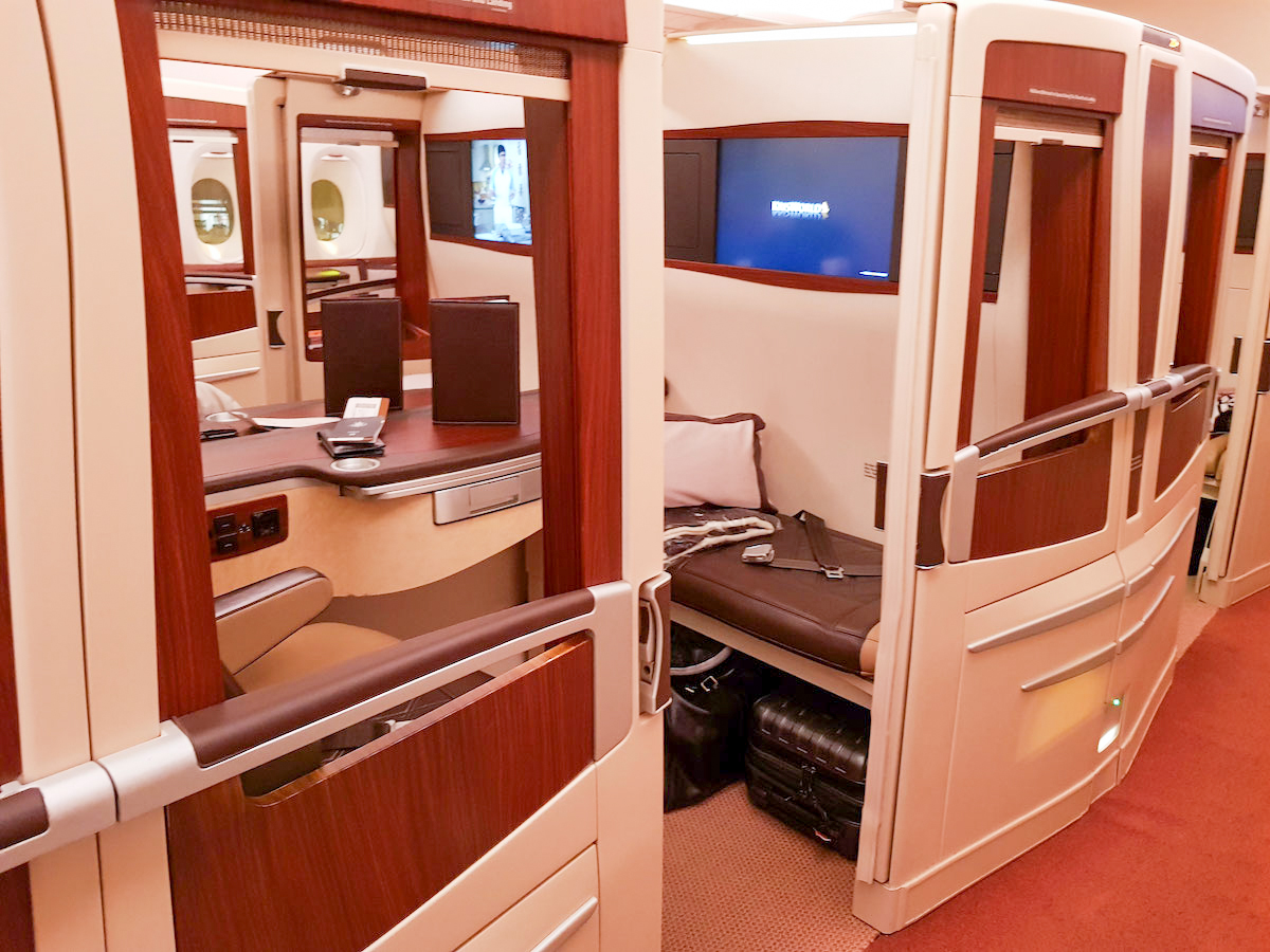 Singapore Airlines A380 old First Class Suite