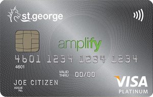 No annual fee for the first year, 0% p.a. on Purchases and Balance Transfer with the St.George Amplify Platinum – Amplify Rewards