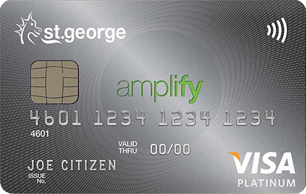 St. George Amplify Platinum Visa Card | Point Hacks