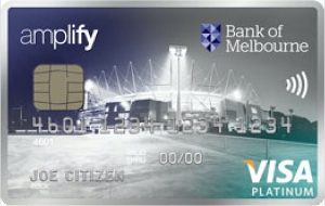 No annual fee for the first year, 0% p.a. on Purchases and Balance Transfer with the Bank of Melbourne Amplify Platinum – Amplify Rewards