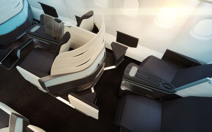 Hawaiian Airlines A330 First Class