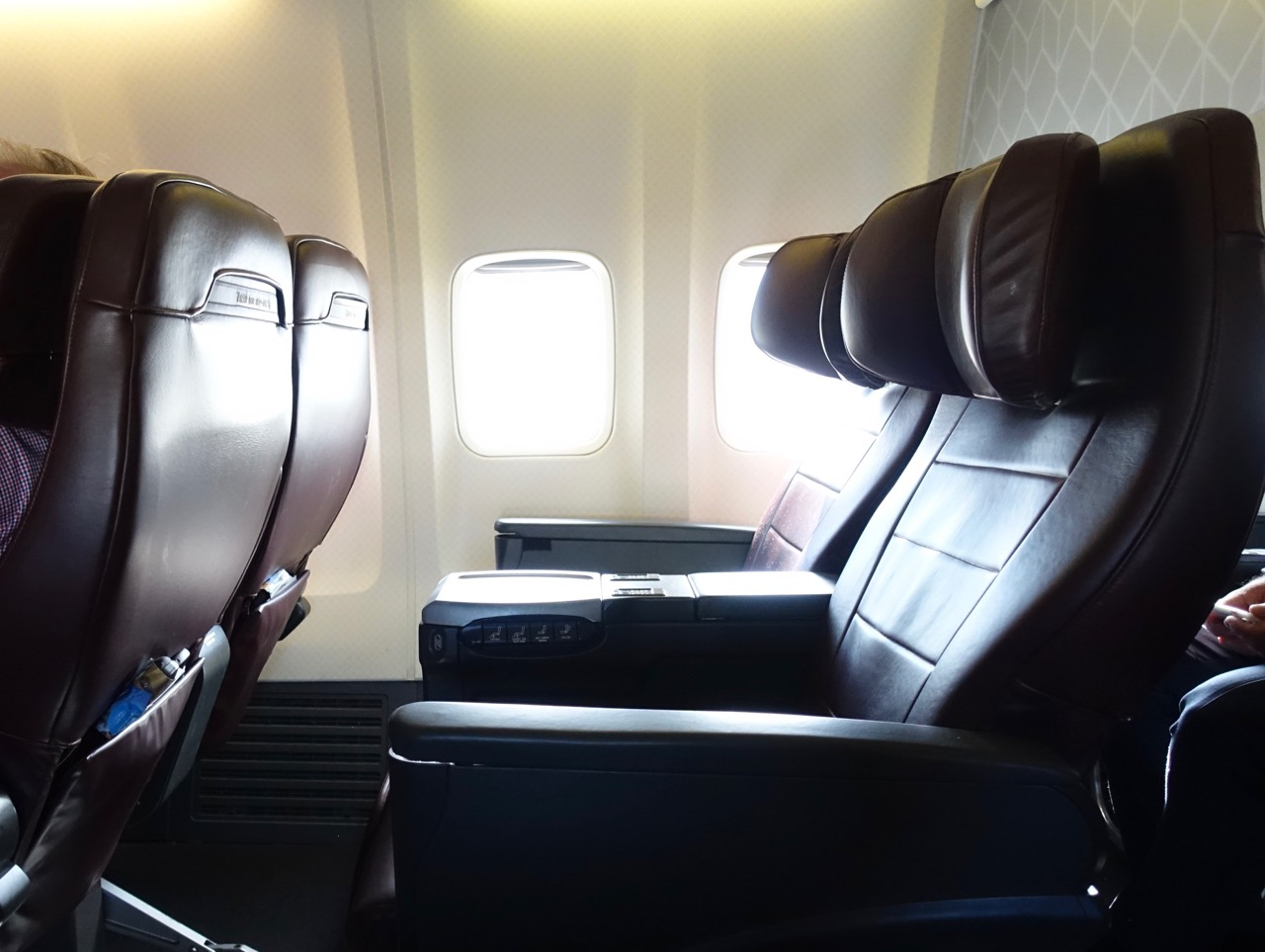 Qantas 737 Domestic Business Class