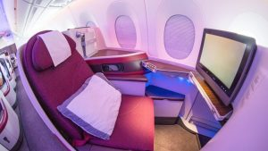 Qatar Airways A350 Business Class overview