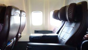 Qantas 737 Domestic and Trans-Tasman Business Class overview