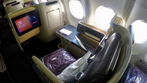 Qantas A330 Domestic Business Class Overview