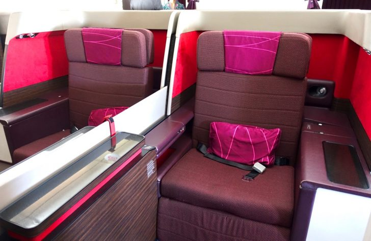 Malaysia Airlines A380 First Class Seat | Point Hacks