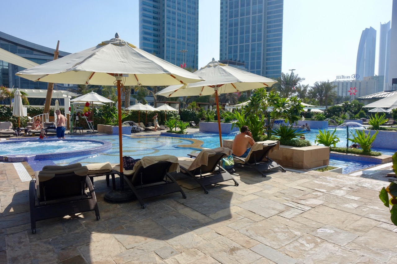 The St. Regis Abu Dhabi Pool | Point Hacks