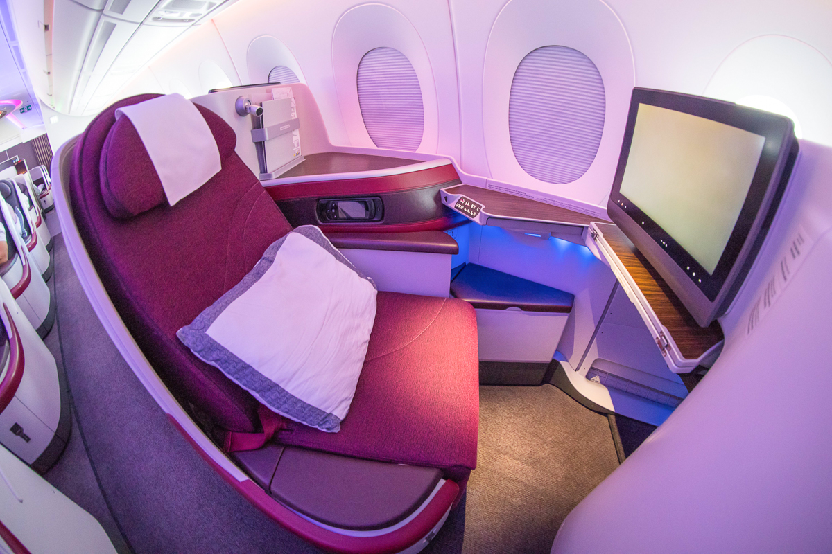 Qatar Airways A350 Business Class | Point Hacks