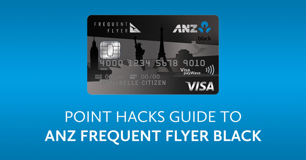 Anz Frequent Flyer Credit Cards With Qantas Points Point Hacks Review