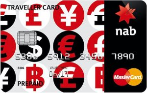 NAB Traveller Card: a prepaid travel Mastercard with no overseas withdrawal fees