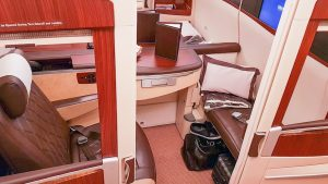 Singapore Airlines A380 (old) First Class Suites overview