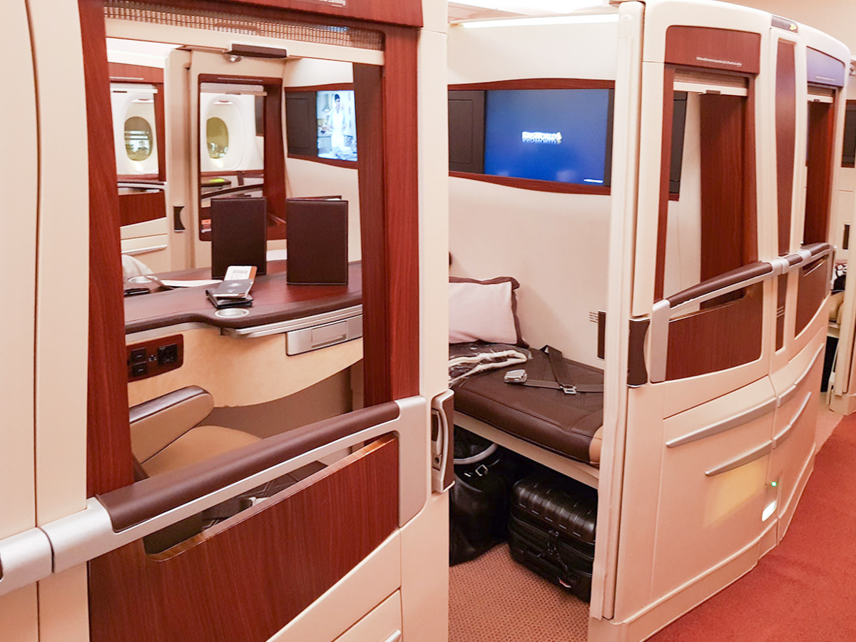 Singapore Airlines A380 old Suite | Point Hacks
