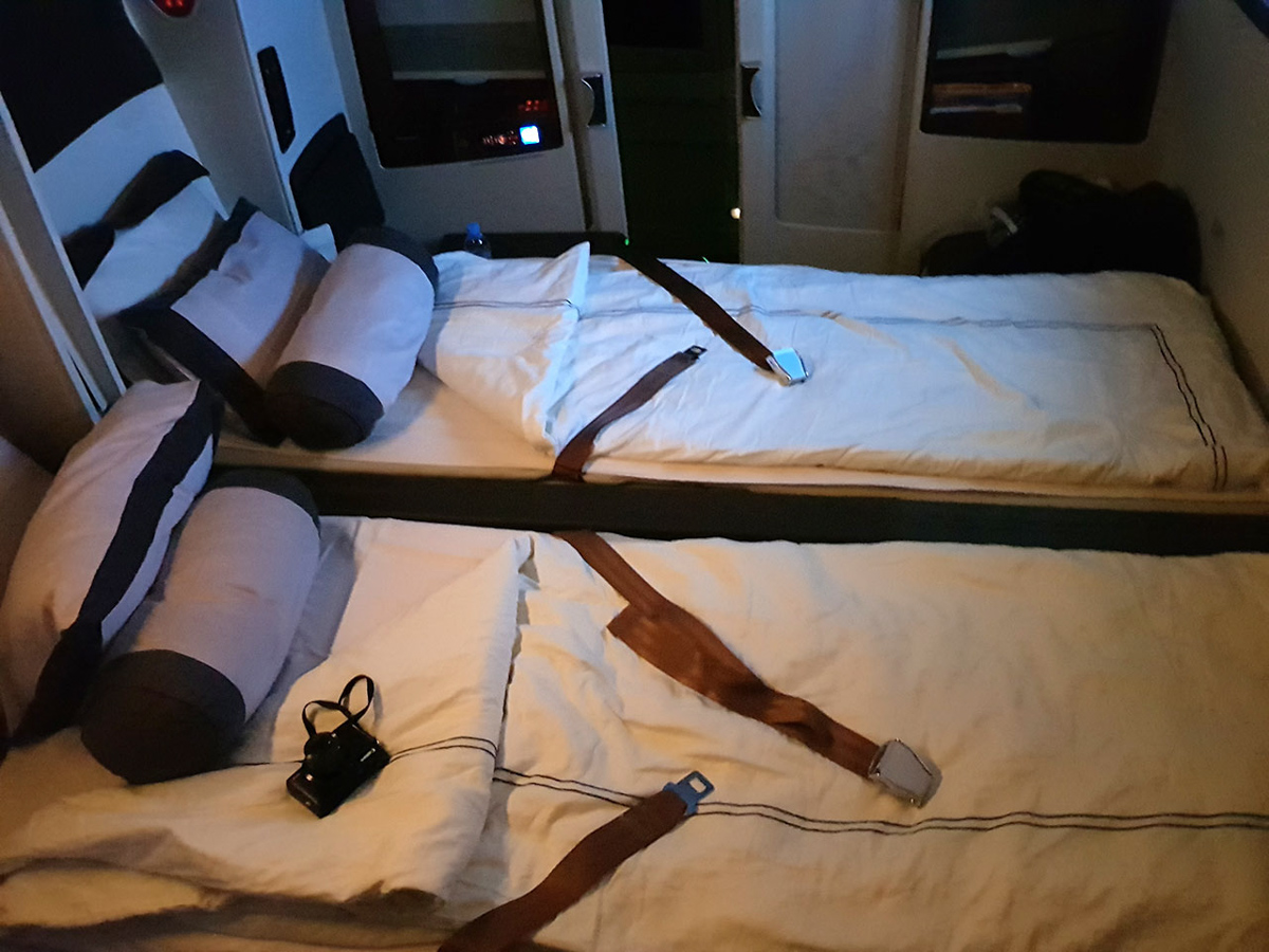 Singapore Airlines old First Class Suite