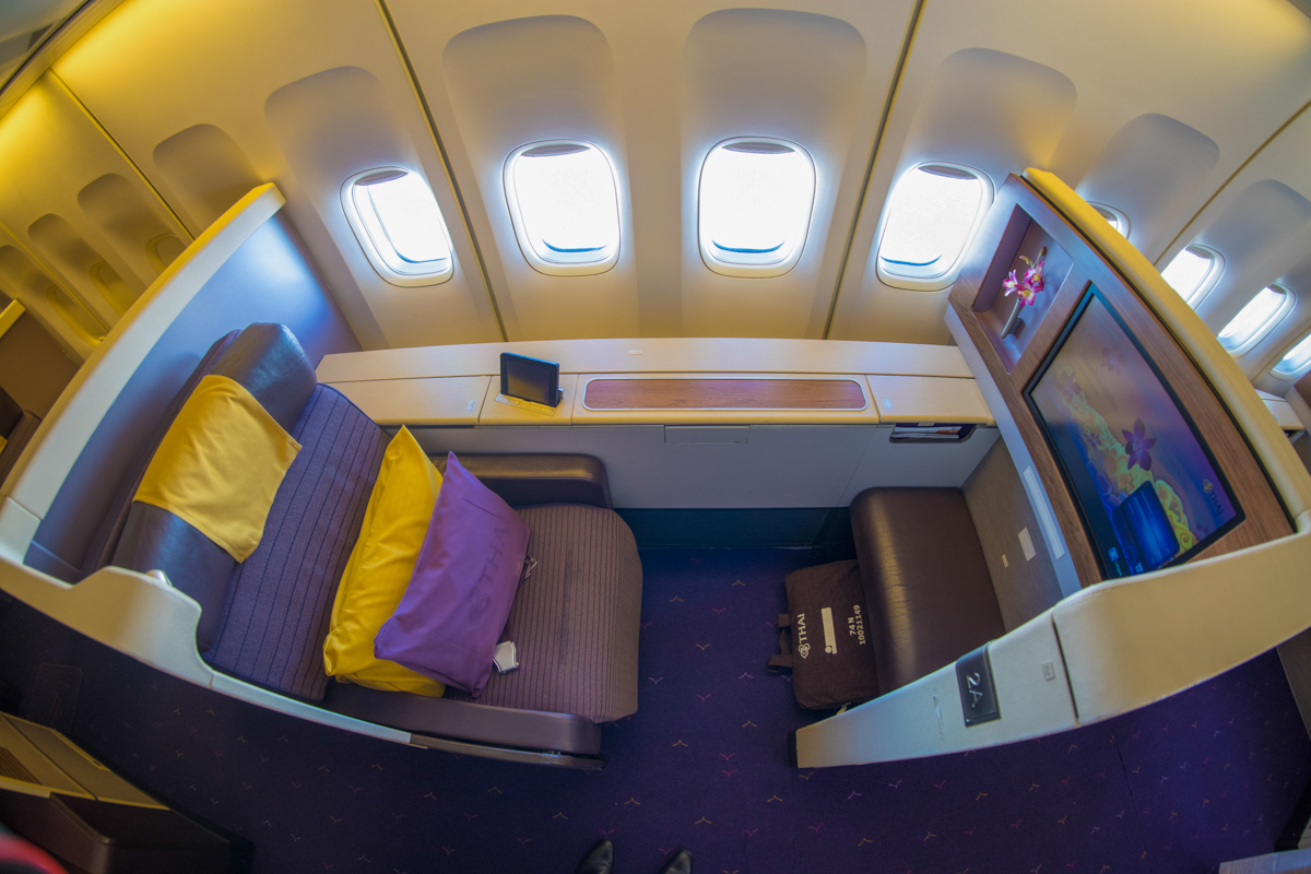 Review of THAI Airways 747 First Class | Point Hacks