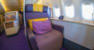 THAI Airways 747 First Class Seat   Point Hacks