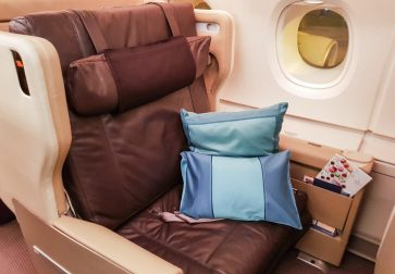Singapore Airlines A380 Business Class overview