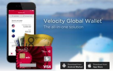 Velocity Global Wallet changes: increased overseas earn rate, decreased domestic earn rate, and a mixed bag with fees