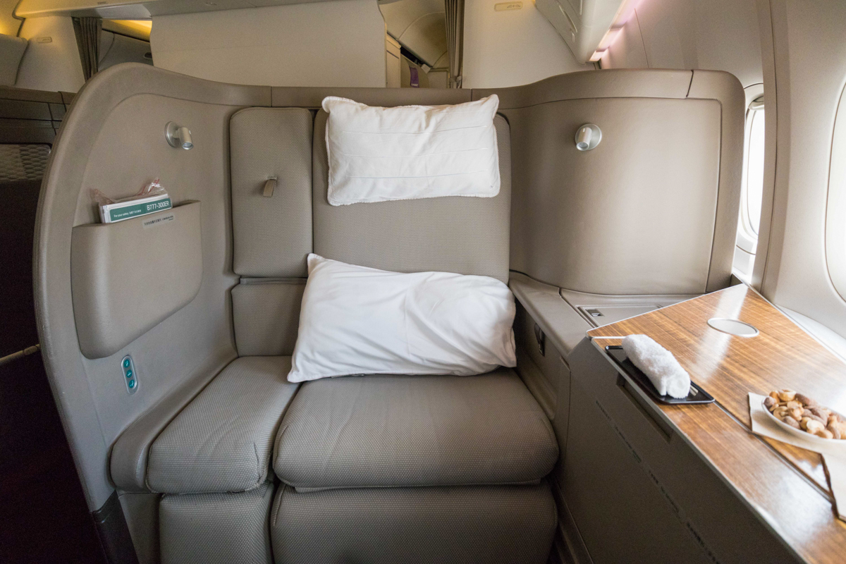 Cathay Pacific 777 First Class overview