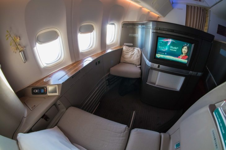 Cathay Pacific 777 First Class   Point Hacks